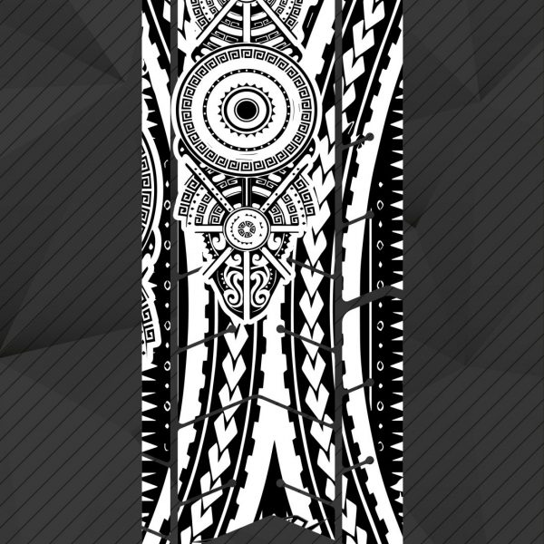 Protector transparente maorí