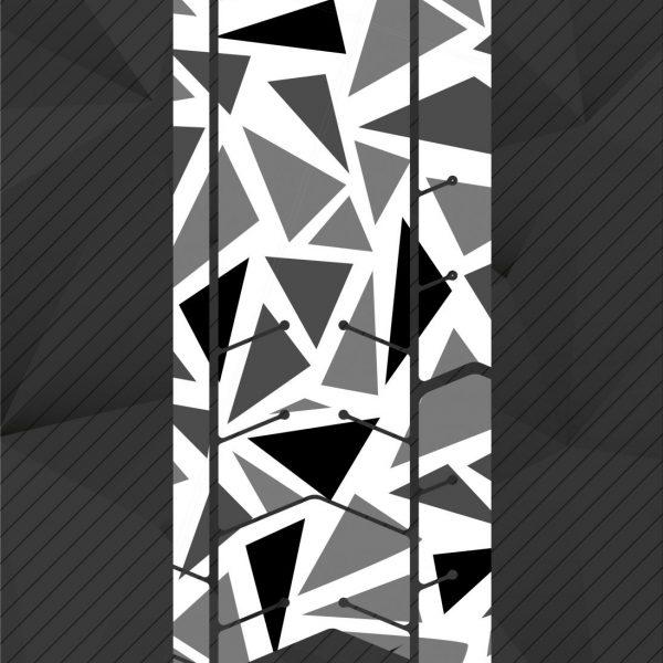 Protector transparente triángulos