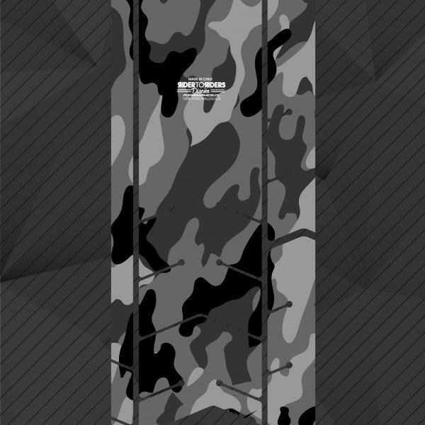Protector camuflaje grises