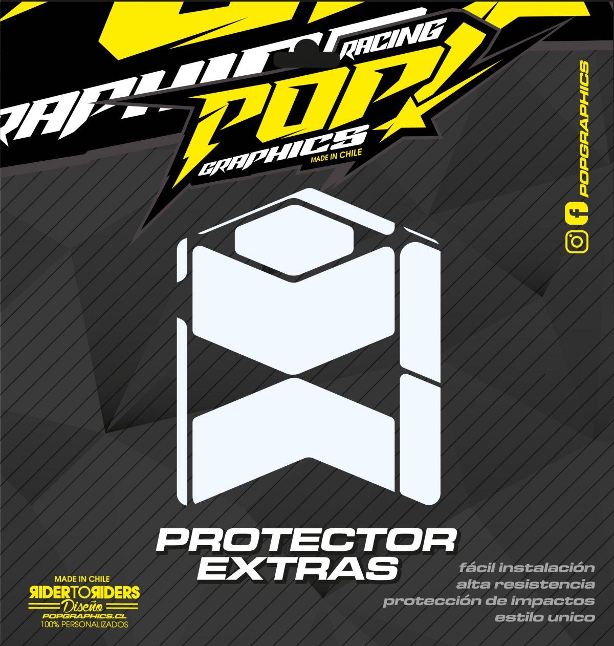 Protección extra transparente