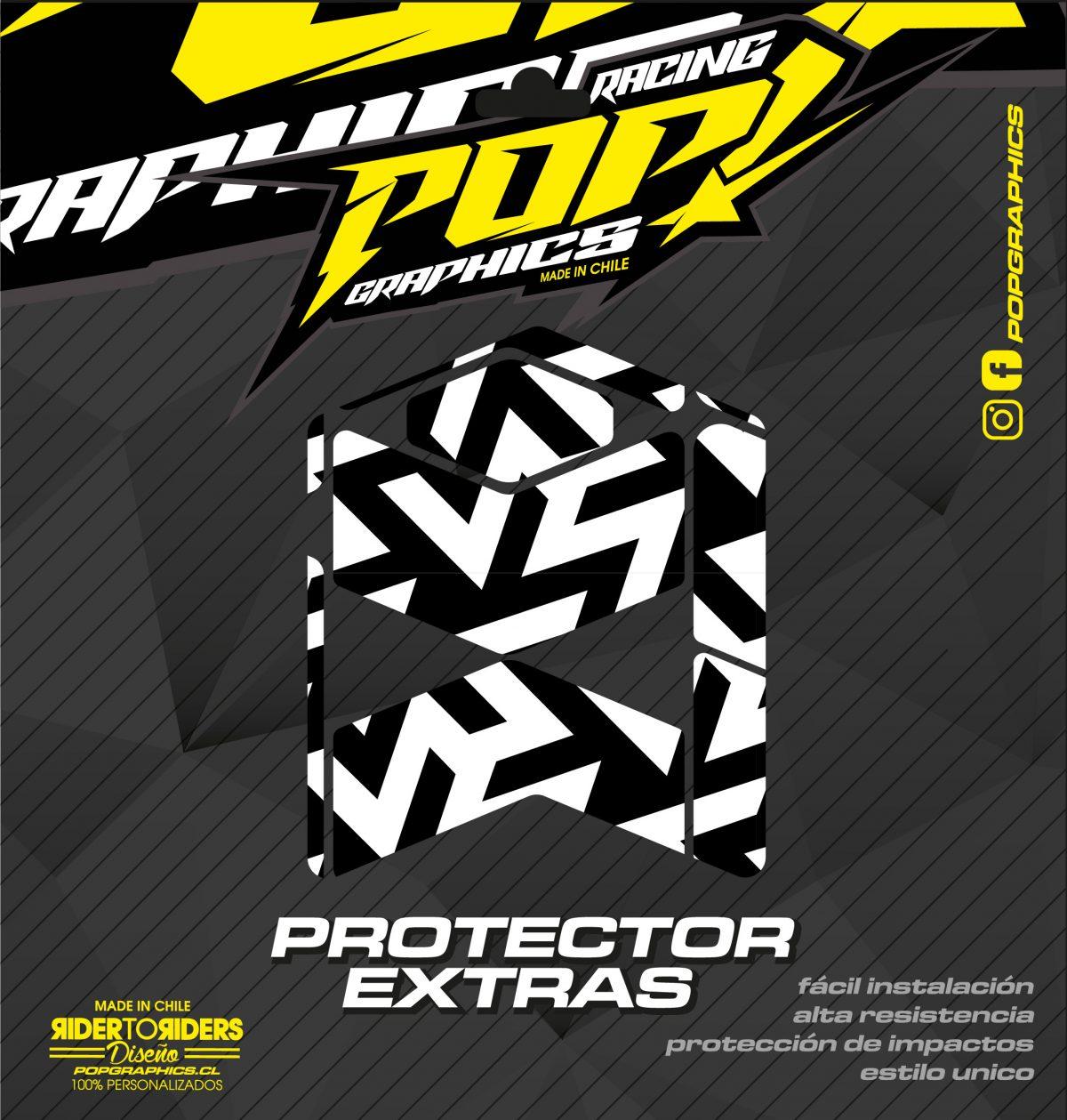 Protector extra transparente formas