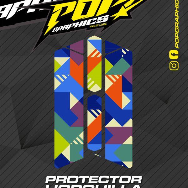 Protector horquilla cuadrados