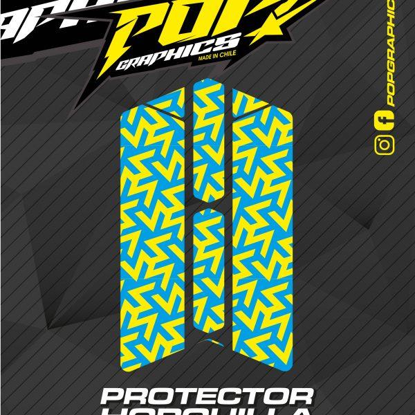 Protector horquilla formas colores