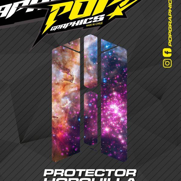 Protector horquilla galaxia